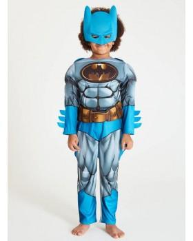 Нов модел костюм на Батман с мускули, маска и наметало