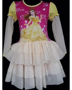 Красива рокля на Бел от Красавицата и Звяра