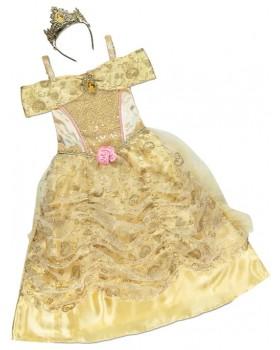 Страхотна рокля на Бел от Красавицата и Звяра с корона