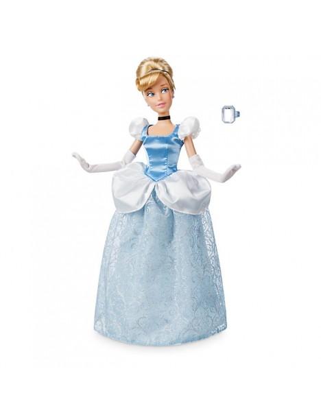 Оригинална Дисни кукла Пепеляшка с пръстен за детето