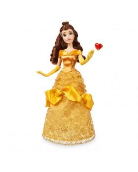Оригинална Дисни кукла Бел от Красавицата и звяра с пръстен за детето