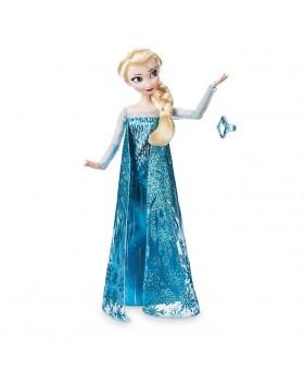 Оригинална Дисни кукла Елза от Замръзналото кралство с пръстен