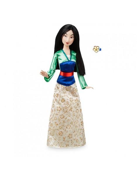 Оригинална Дисни кукла Мулан с пръстен за детето
