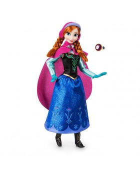 Оригинална Дисни кукла Анна от Замръзналото кралство с пръстен за детето