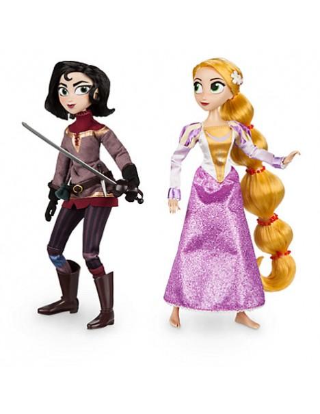 Оригинален Дисни комплект кукли Рапунцел и Касандра от сериите Рапунцел