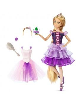 Оригинална Дисни кукла Рапунцел балерина с аксесоари