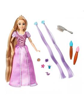 Оригинална Дисни кукла Рапунцел с аксесоари за косата