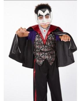 Невероятен костюм на Вампир/Дракула/ с маска и звуково устройство