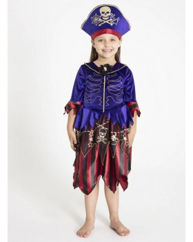 Страхотна рокля на Пиратка с шапка