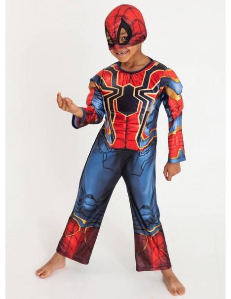 Нов модел костюм на Спайдърмен с мускули и маска