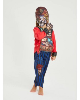 Костюм на Пират с прекрасна маска