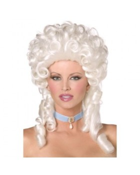 Страхотна дамска перука стил Барок